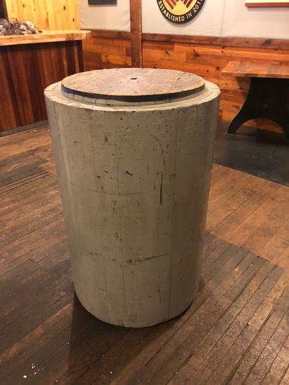 Vintage Wooden Foundry Mold Table Top.