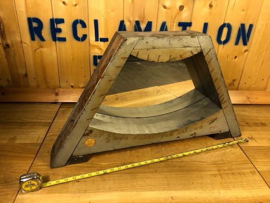 Vintage Industrial Salvaged Mirror