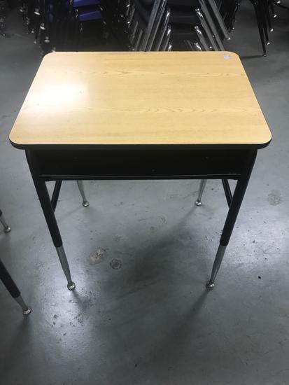 Lot of 24 inch wide school desk, please read full description