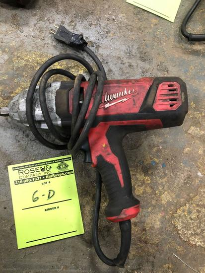 Milwaukee 1/2 in Electric Impact Wrench