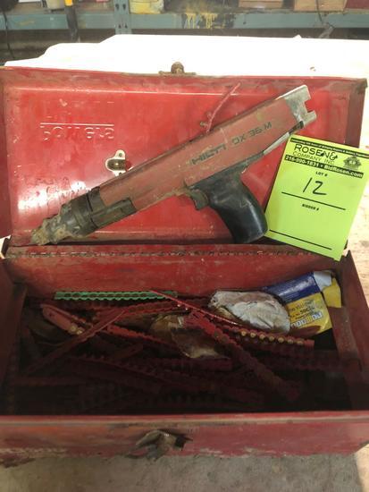 Hilti DX 36 M Ramset Gun w/ Good Amount of safety strips