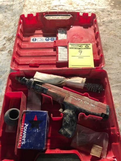 Hilti DX 36 Ramset Gun