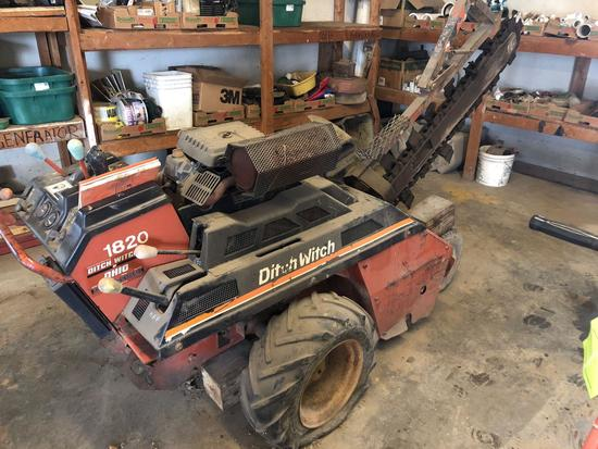 Ditch Witch Model 1850