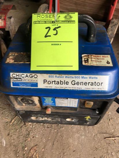 Chicago 800 Watt Portable Generator