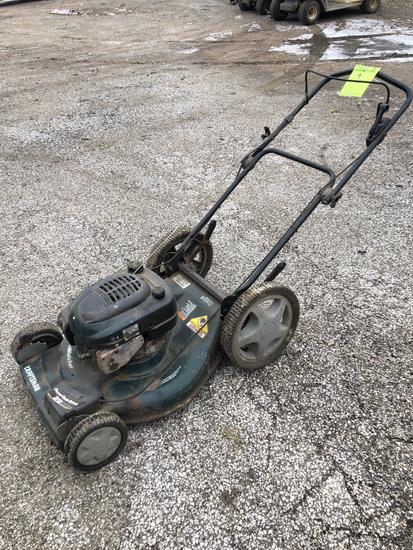 Craftsman 22 in self propelled big wheel mulching mower
