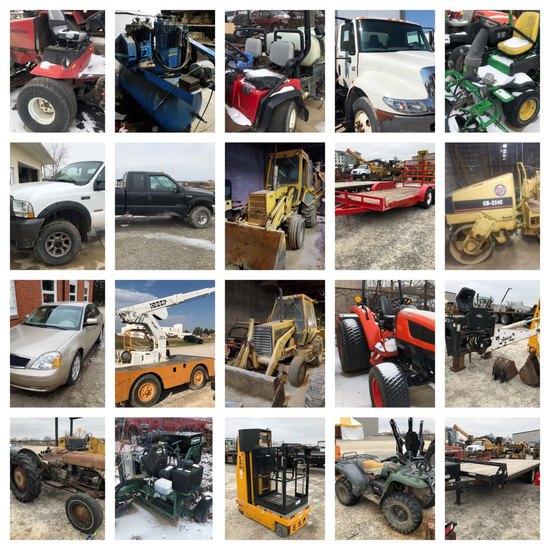 Quarterly Machinery ad Equipment Auction