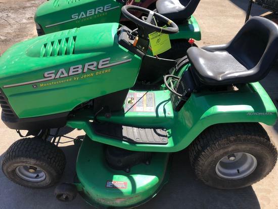 JD Sabre Riding Lawn Mower