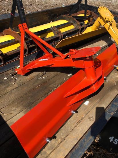 TarTer 60 in NEW 3 pt rear grader blade