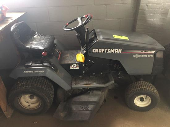 Craftsman 15.5hp/42 in Riding Lawn Mower