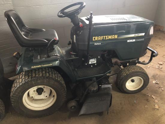 Craftsman 20.5 hp/46 in Riding Lawn Mower