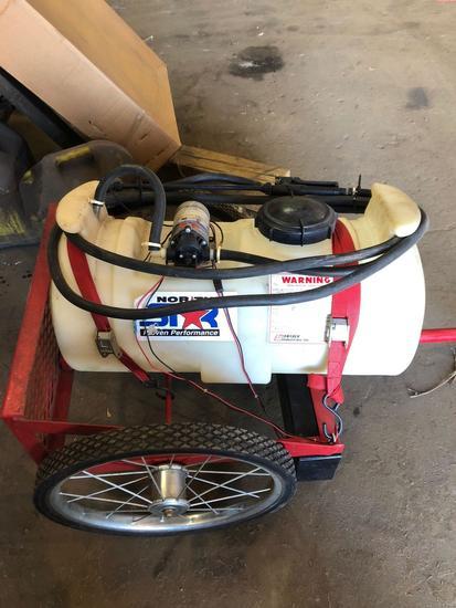 NorthStar Portable Sprayer on Cart