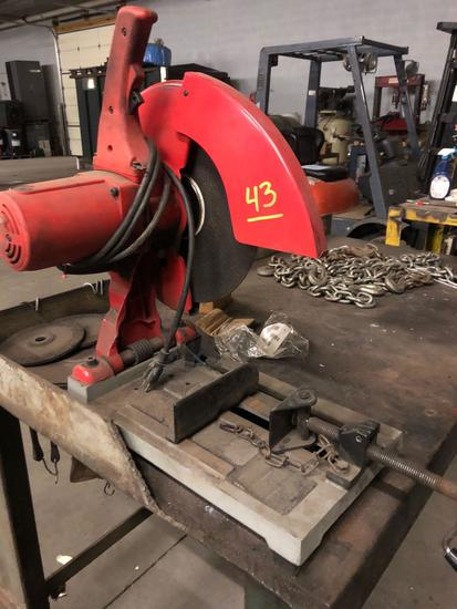Milwaukee 14 in Abrasive Cut Off Saw