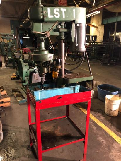 Walker Turner Drill Press w/Procunier Lead Screw Tapping Attachment