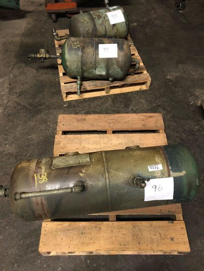 Lot of 3 misc Air Tanks