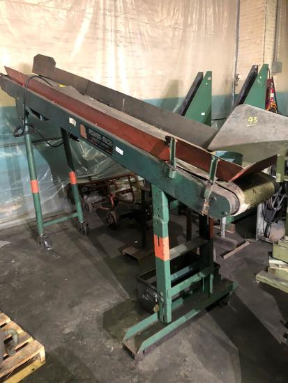 Power Pack #9E12 Electric Conveyor-12 in x 110 in Belt