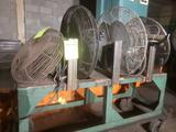 Lot of 4 Wall Mounted Shop Fans