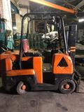 Allis Chalmers BUDA Dual Mast (shorty) 5000 lb cap LP Forklift