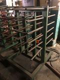 Steel parts drying rack