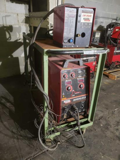 Lincoln Electric Invertec Stt 2 welder with lincoln Ln- 742