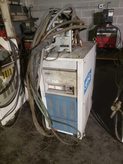 2000 OTC 350 turbo pulse Inverter Auto Wirefeed Welder