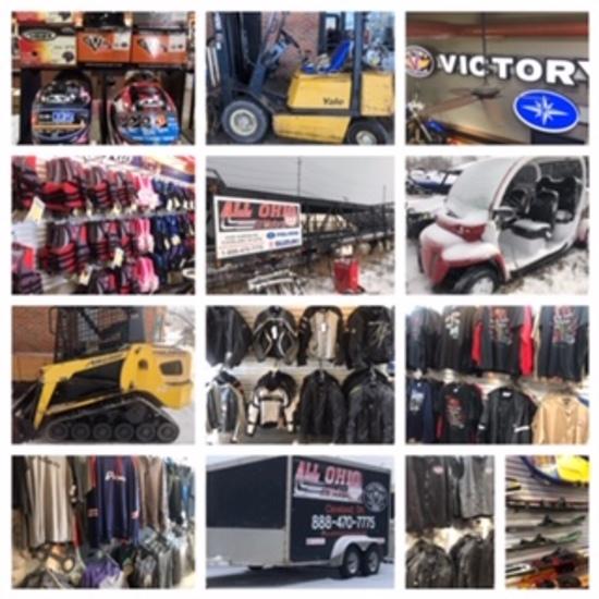 All-Ohio Motorsport Liquidation Auction