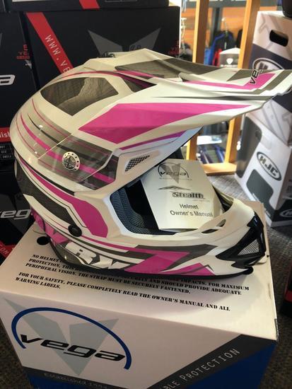 NEW Vega VRX MotoCross Helmet