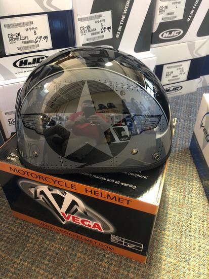 NEW Vega Flight Line Helmet