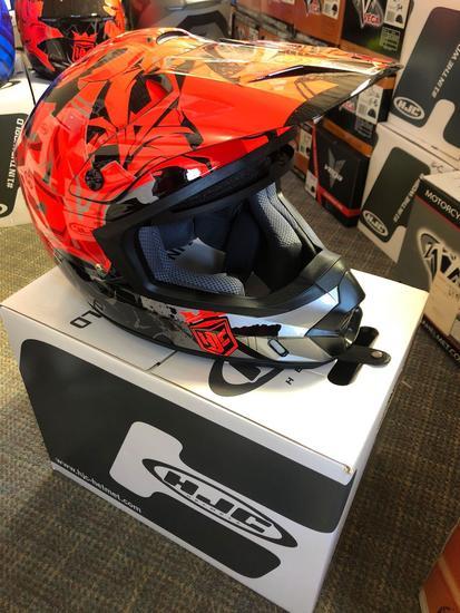 NEW HJC MX II Helmet