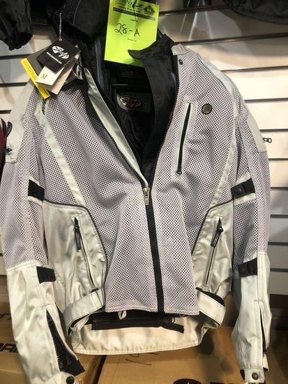 New Joe Rocket Phoenix 5.0 Gray Padded Riding Coat