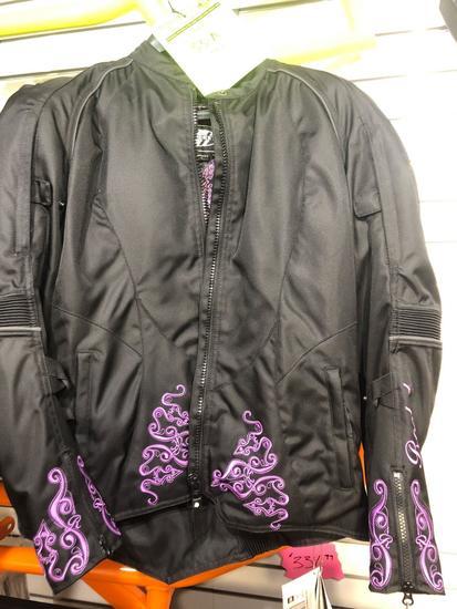 New Joe Rocket Women?s Heartbreaker 3.0 Padded Riding Coat