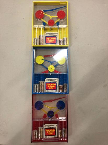 Assorted Colored Money Machine Banks (Pallet 1)