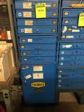 Premier 6 Drawer hardware bins w/ 1 larger locker type door