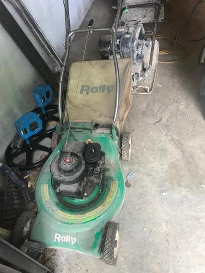 Rally 20 inch lawnmower, model B100CR