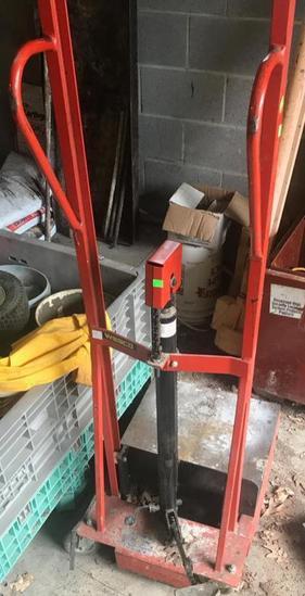 Wesco LLHPI Hydraulic Lite-lift, 500 pound capacity