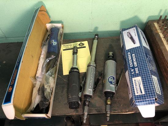 Lot of (5) Misc Air Tools (Die Grinders)