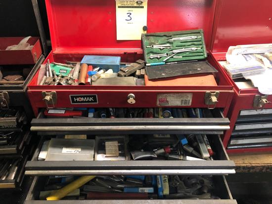 Craftsman Tool Box Packed With Tools - See Pictures