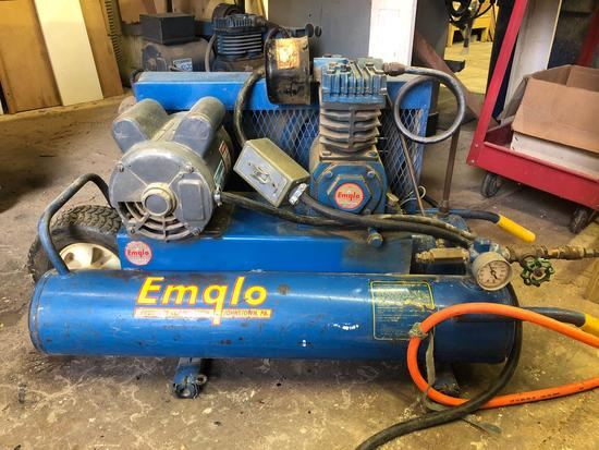 Emglo Dual Tank 1.5 Hp Air Compressor
