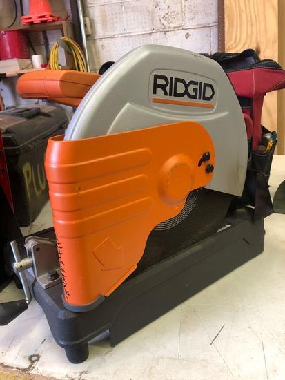 Like New Ridgid Cm14500 14 in Cut Off Saw