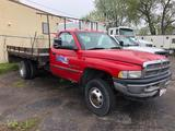 2001 Dodge 3500 5.9L Gas Stake Body Truck