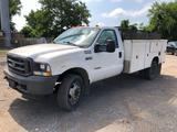 2004 Ford F-550 XL Super Duty 6.0 Diesel Utility Truck