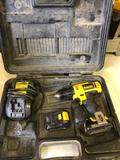 Dewalt 12v 3/8 in Drill with Charger and 2 batteries