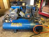 Emglo Dual Tank 1.5 Hp Air Compressor