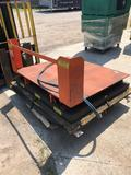 Air Caster 4000 lb Rotary Lift Table
