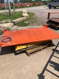 Air Caster 1000 lb Rotary Lift Table