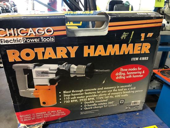 1 in Rotary Hammer. Chicago