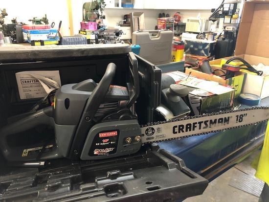 Craftsman 18 in Pull Lite Chainsaw
