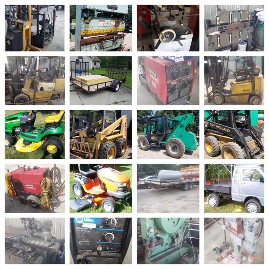 Skidloaders, Telehandler, Indust. Machinery & More