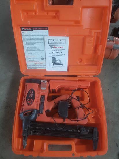 Ramset TrakFast tf1200 low velocity piston type fastening tool