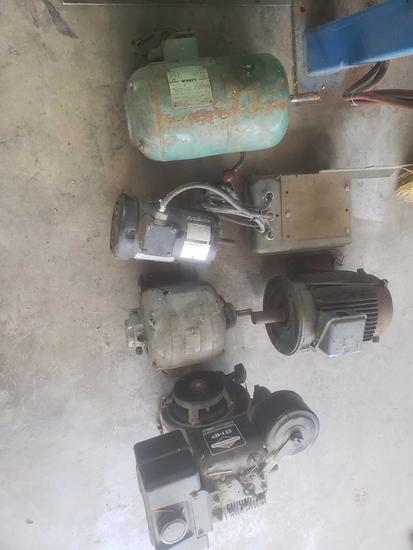 5 Miscellaneous motors lot