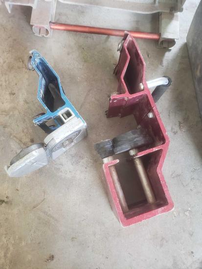 Van mark 1 series sheet metal break with trim former and cutter